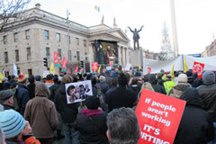 National Demonstration, Dublin, Ireland, 27th November 2010