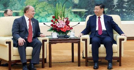 Xi and Zyuganov