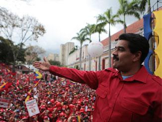 Victory to Maduro!