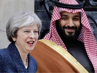 Corbyn seeking peace in Middle East, while Tories back Crown Prince of Saudi Arabia