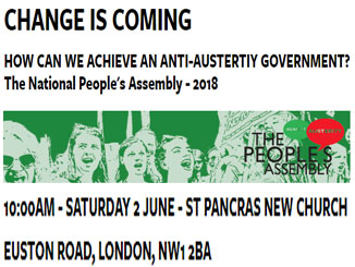 How can we achieve an anti-austerity government? Sat 2 June
