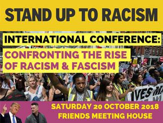 Confronting racism & fascism: International Conference 20 October