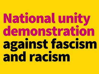 National Unity Demonstration Against Racism & Fascism 17 November London