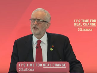 Jeremy Corbyn's speech launching Labour's General Election campaign