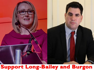 Faced with Johnson's Brexit offensive it is vital Labour supports Long-Bailey and Burgon – not Starmer