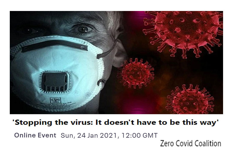 'Stopping the virus: It doesn't have to be this way'