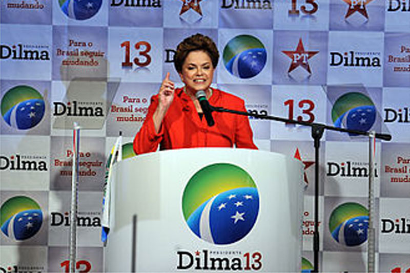 Dilma Rousseff – Brazil's place is not with the US but independent and alongside China
