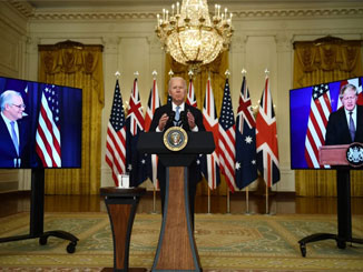 The new Australia, Britain and US military alliance against China is a threat to world peace
