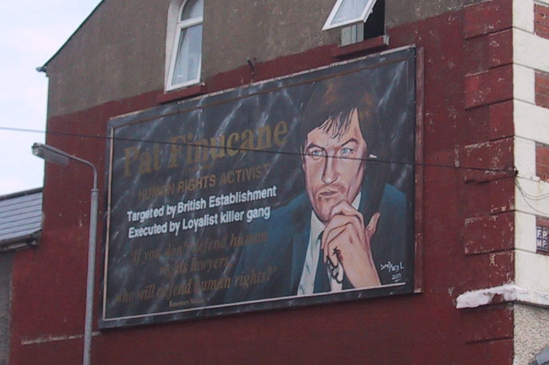 The campaign for justice for Pat Finucane and many more will go on