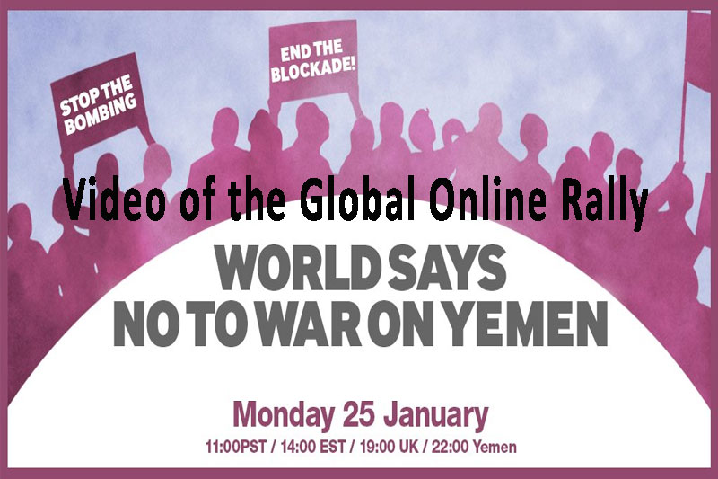 Successful international action for Yemen – Watch the global rally