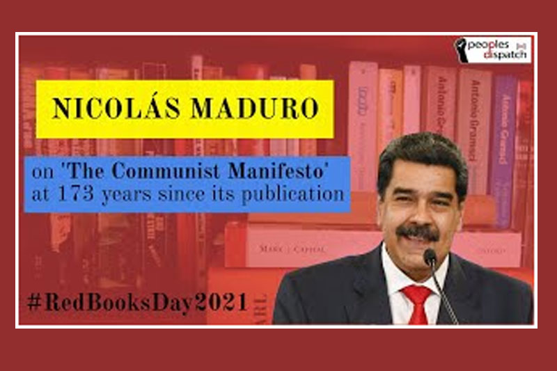 Speech by President Maduro on 173 anniversary of the Communist Manifesto
