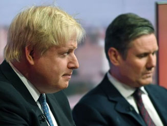 Boris Johnson wants to rip up NI Protocol, undermining Good Friday Agreement – Keir Starmer is helping him