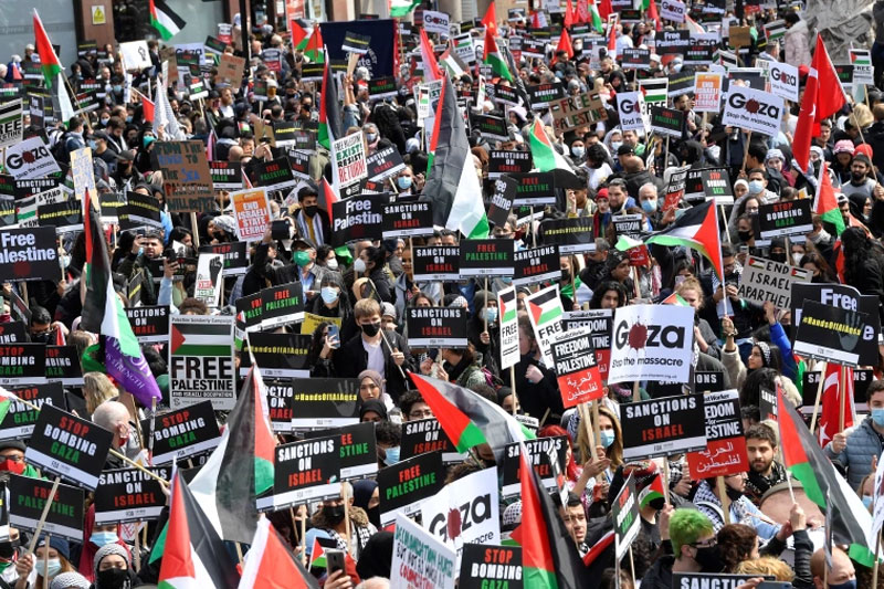 How the Palestinian revolt of 2021 has changed the international situation