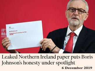 Oppose Tory attacks upon Northern Ireland Protocol and Good Friday Agreement